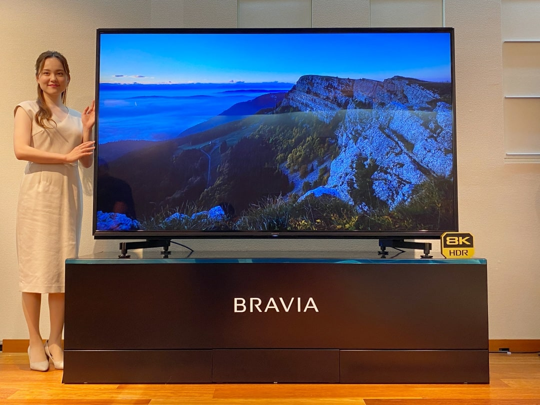 "8k ソニー 8Kブラビア「Z9H」 ソニーの表現力が映す、新しい8K映像の世界""8Kリアリティ""体験"