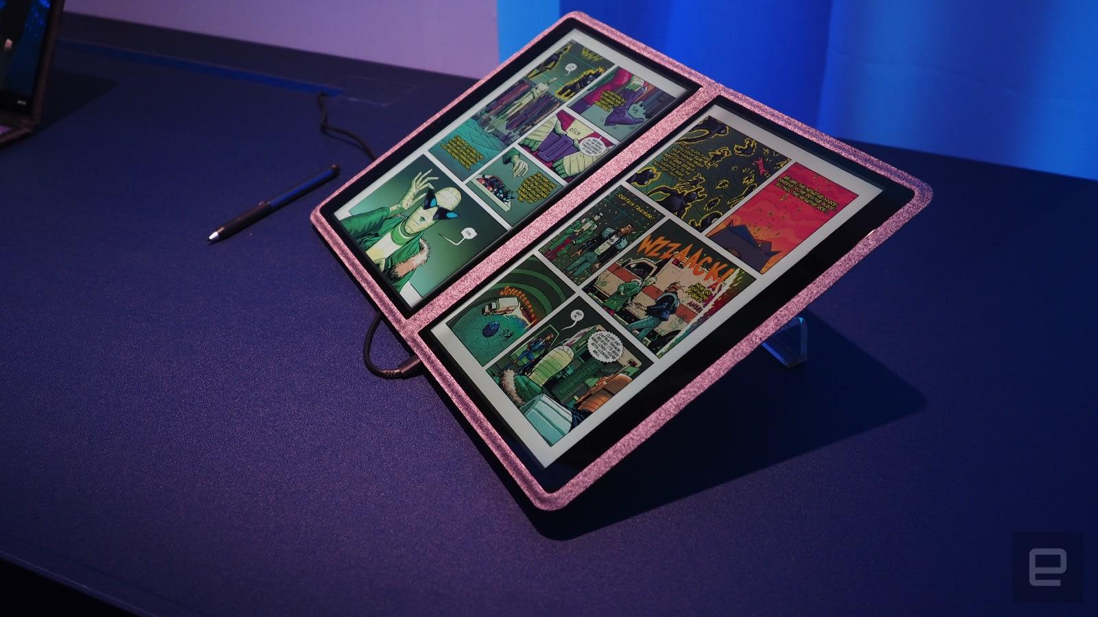 Intel Twin Rivers prototype 2-in-1 laptop hands-on