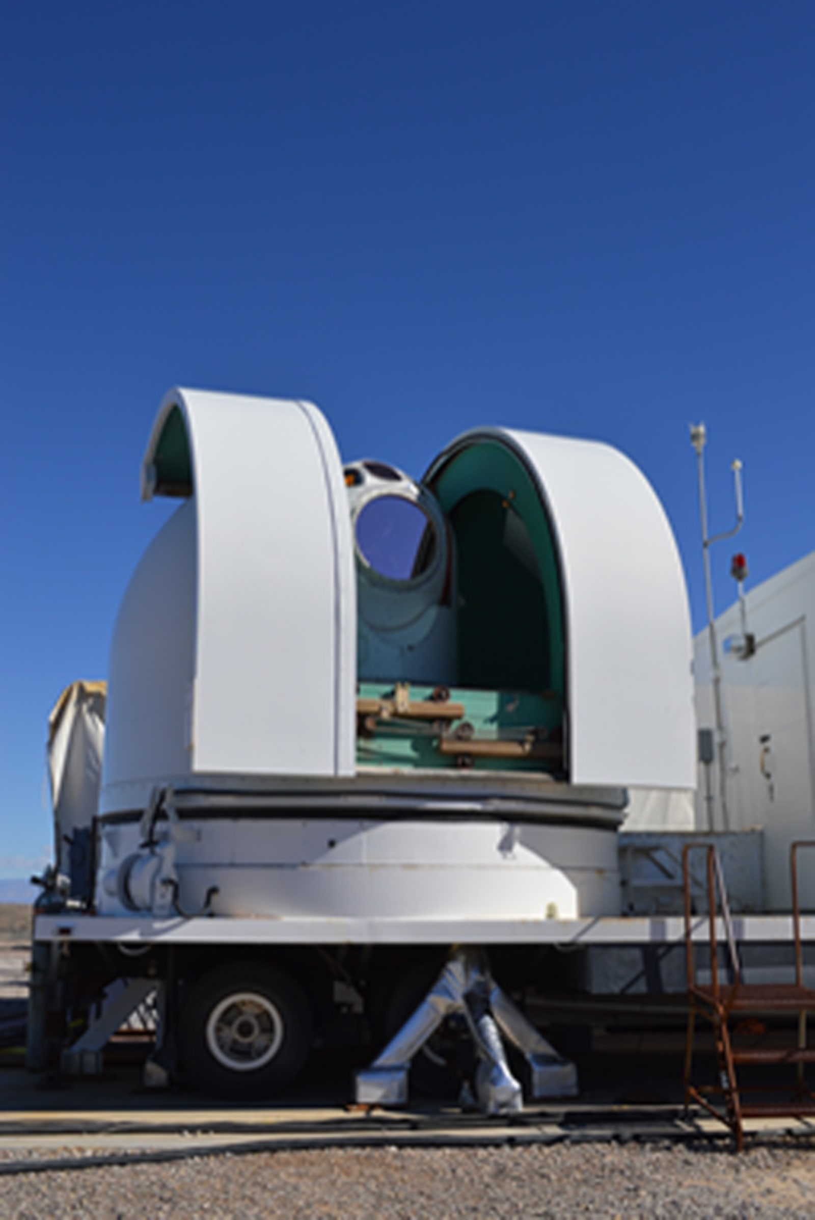 Ground-based SHiELD laser defense weapon