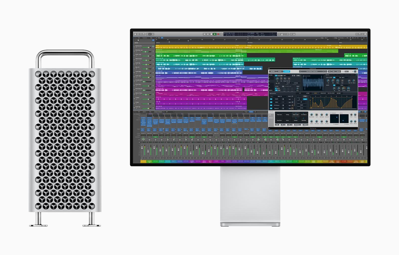 Apple Logic Pro X and Mac Pro