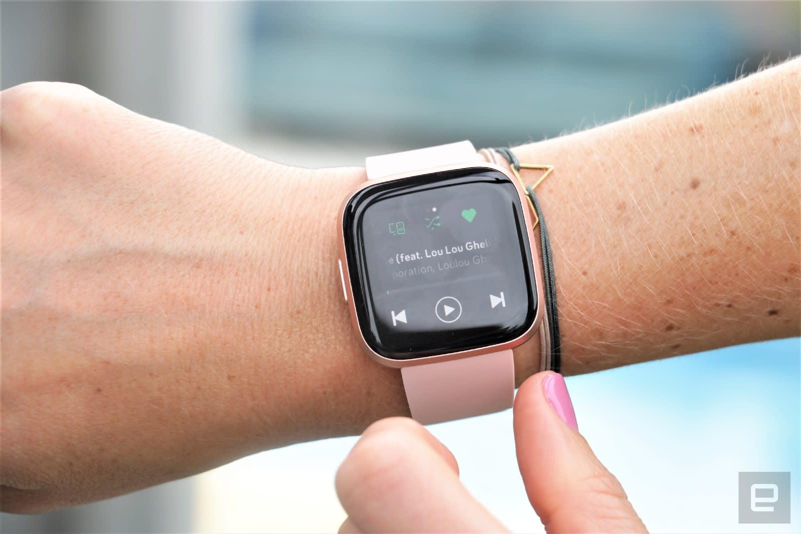 Fitbit Versa 2 hands-on