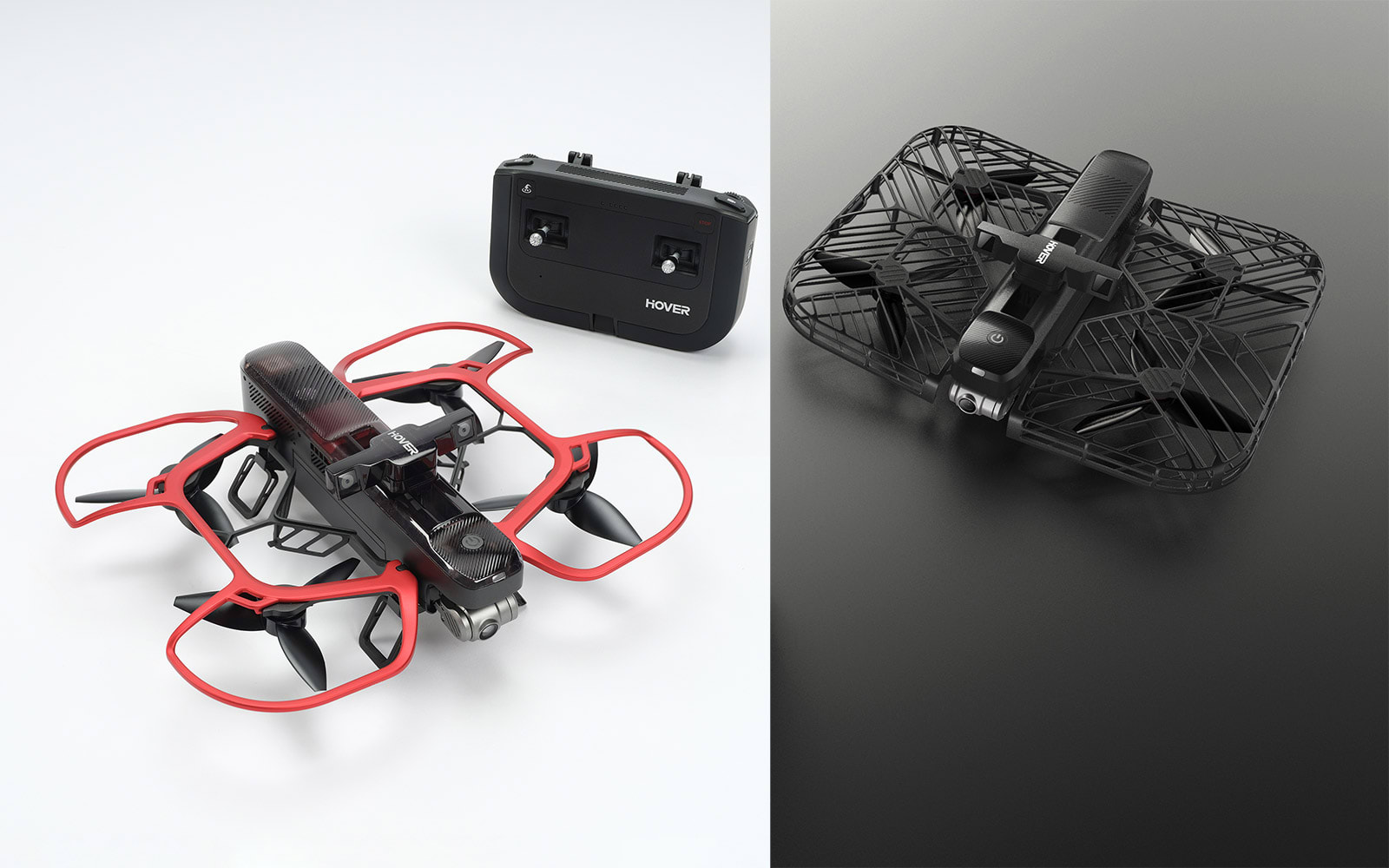 Hover 2 drone in BlastOff mode and default configuration