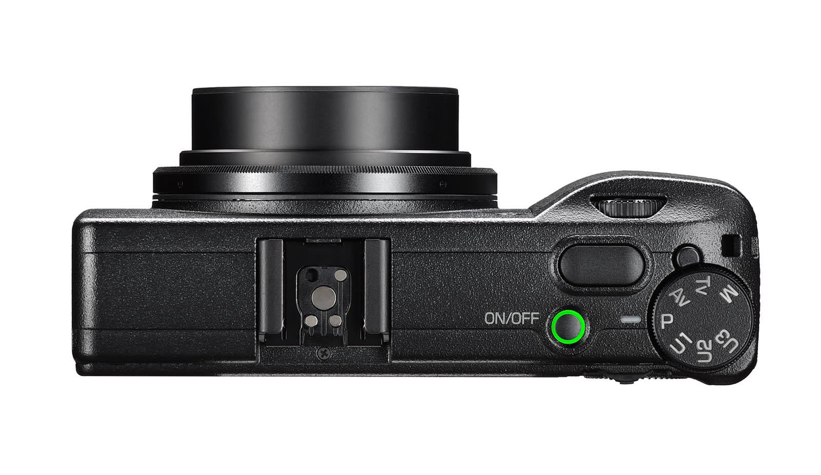Ricoh GR III APS-C compact camera