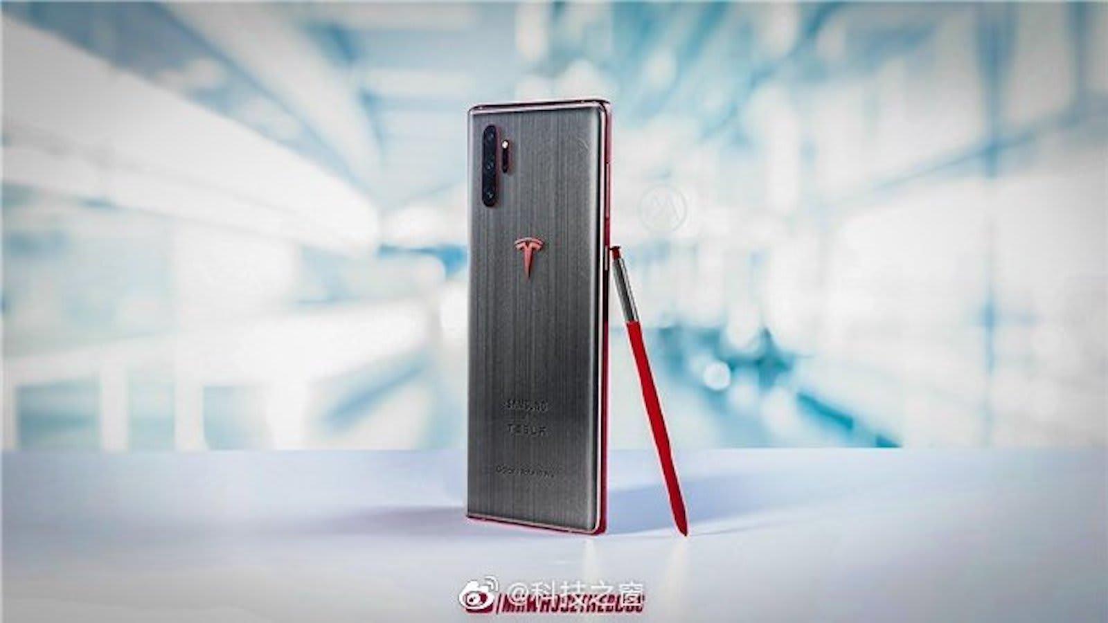 Galaxy Note10 Tesla