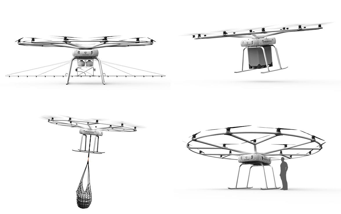 Volocopter's VoloDrone