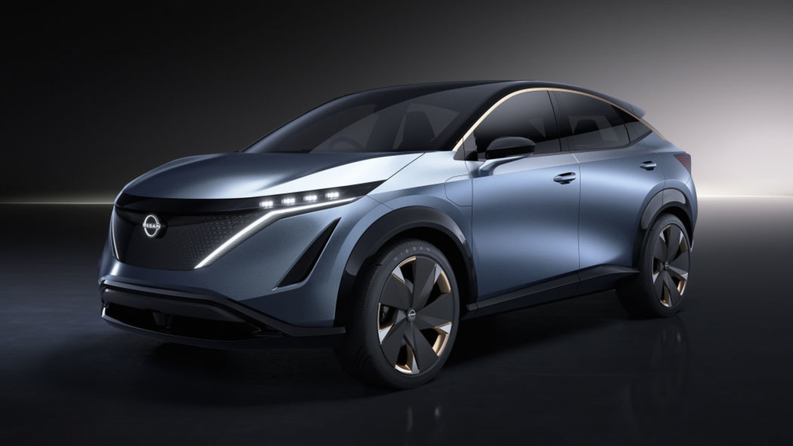 Nissan Ariya concept crossover EV
