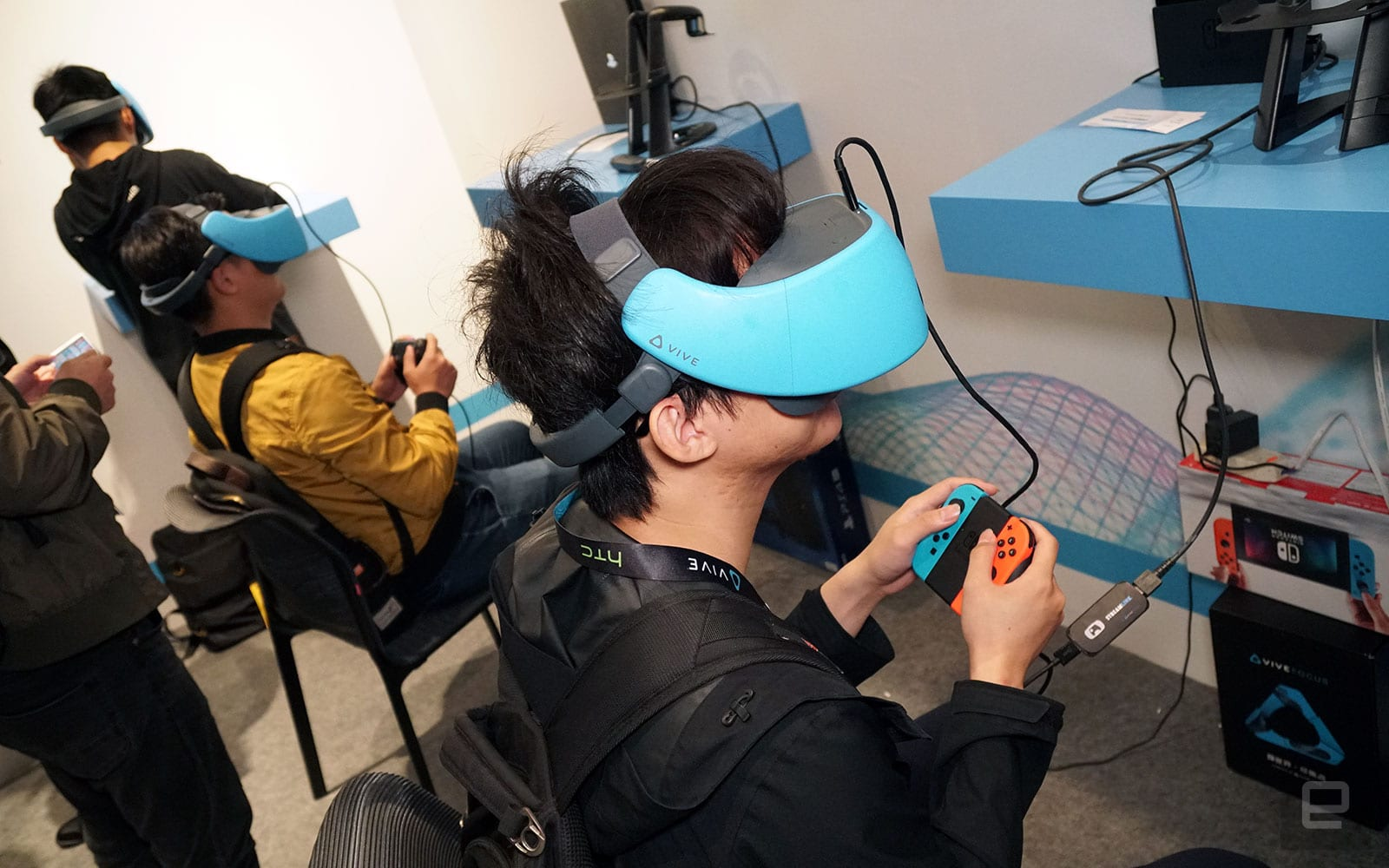 HTC Vive Focus with Streamlink