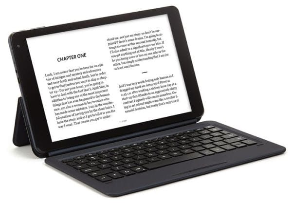 Barns & Noble NOOK Tablet 10.1 Smart Folio Cover with Keyboard