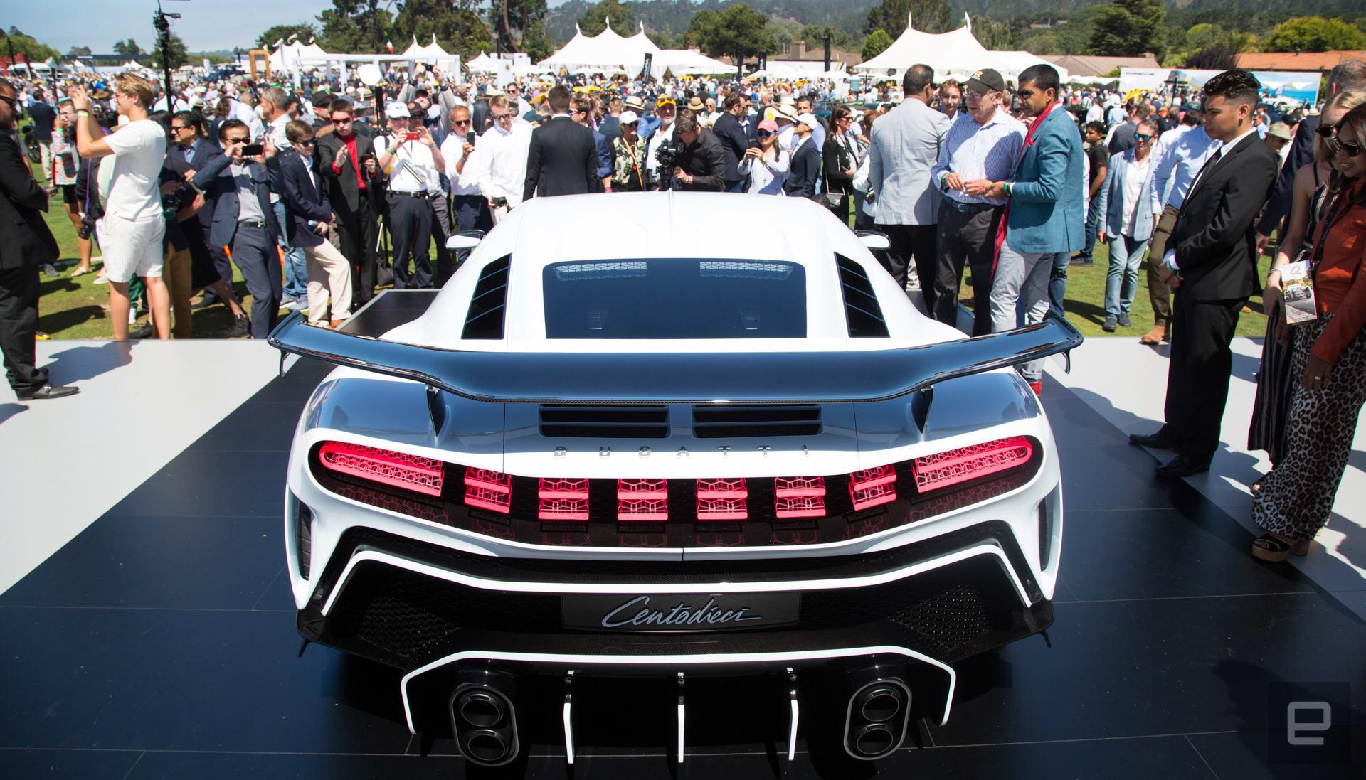 Bugatti Centodieci unveil