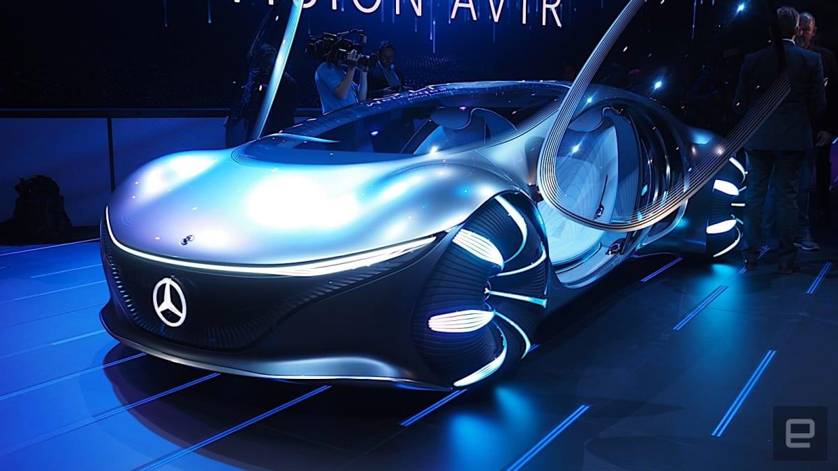 Mercedes at CES 2020