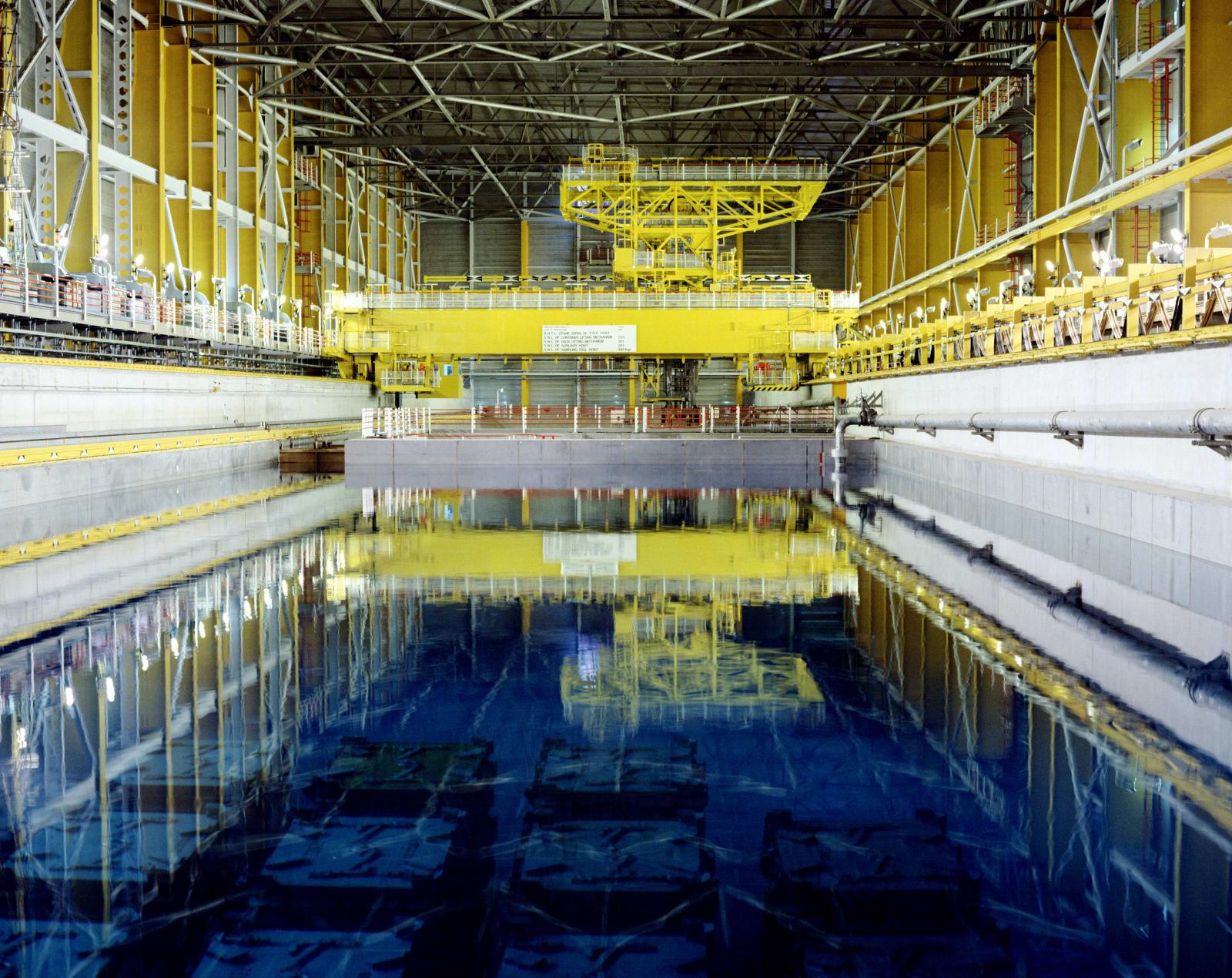 Nuclear storage pond
