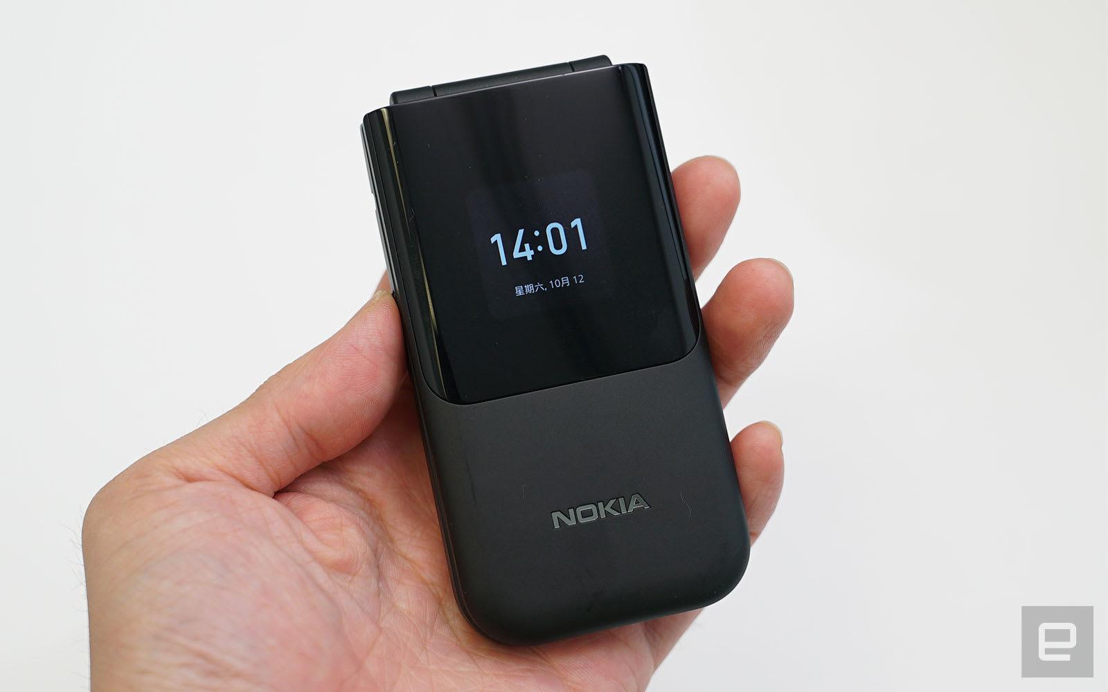 Nokia 2720 Flip 動手玩