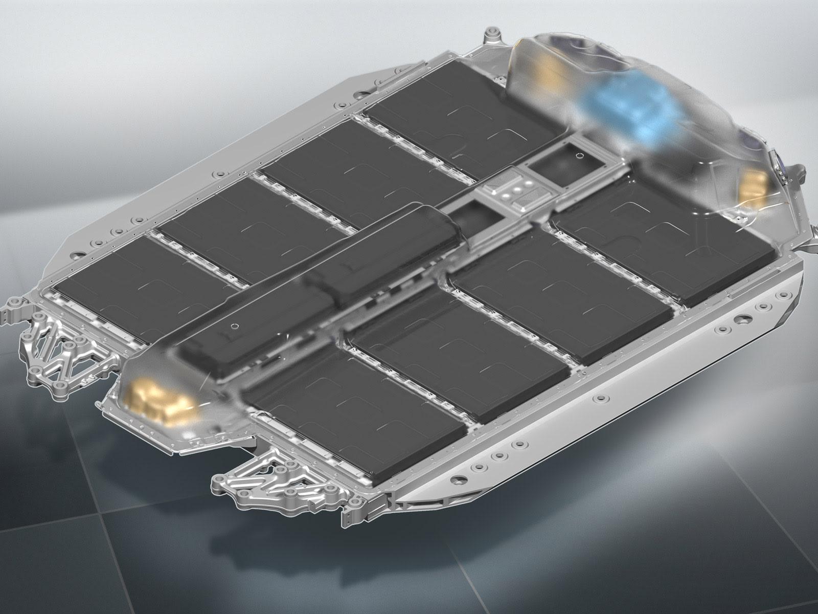 BMW i4 battery