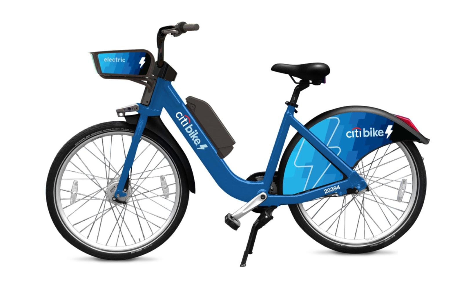 Lyft Citi Bike e-bikes