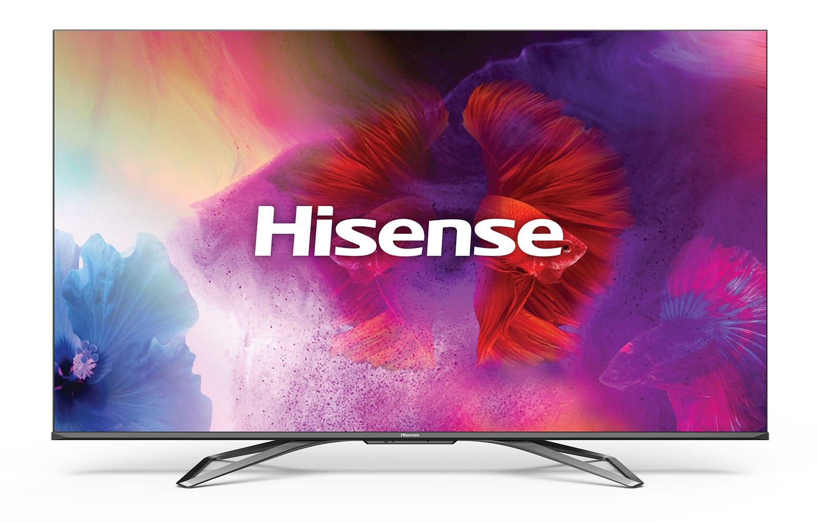 Hisense H9G 4K quantum dot TVs