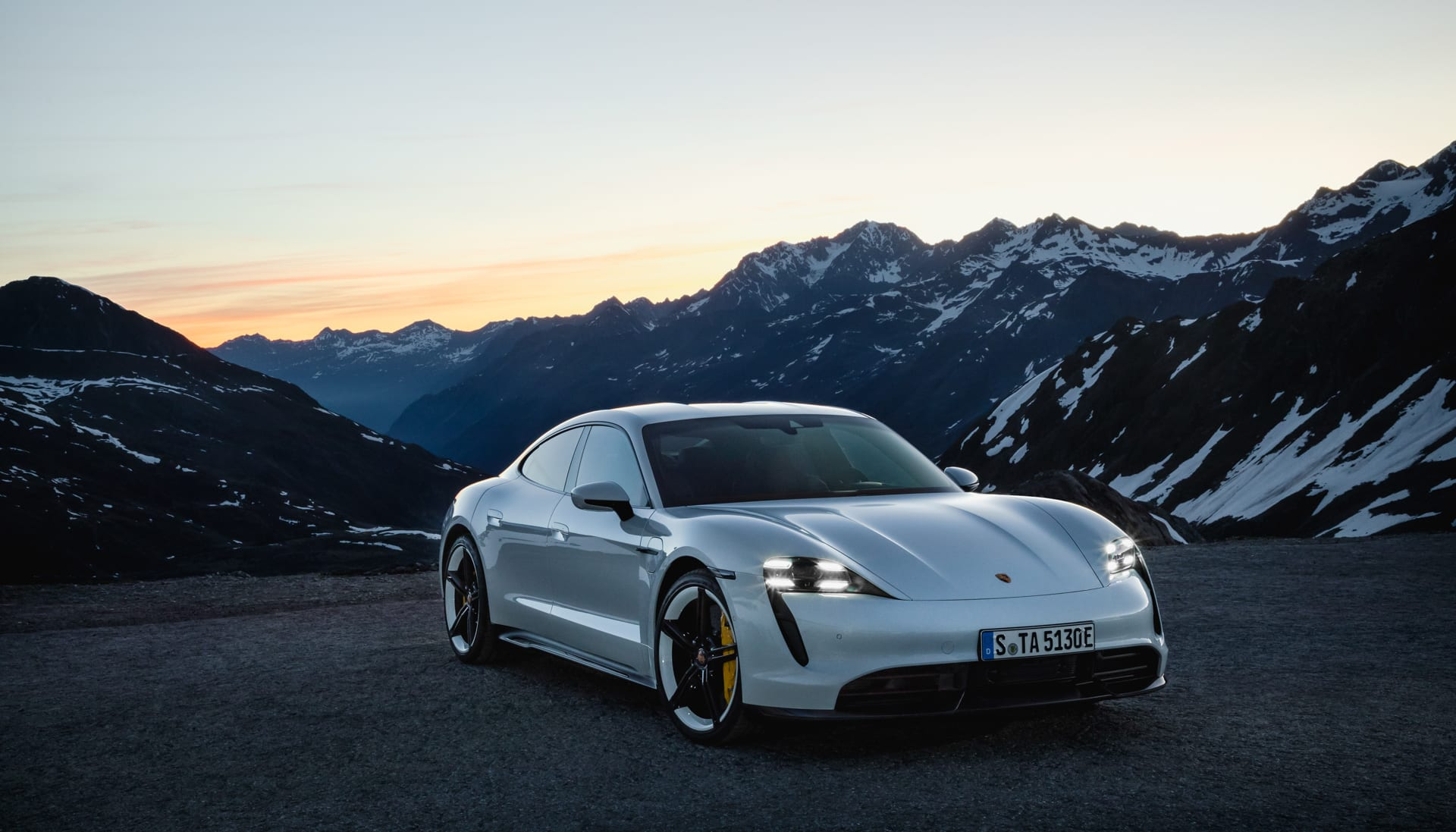 Porsche Taycan unveiling