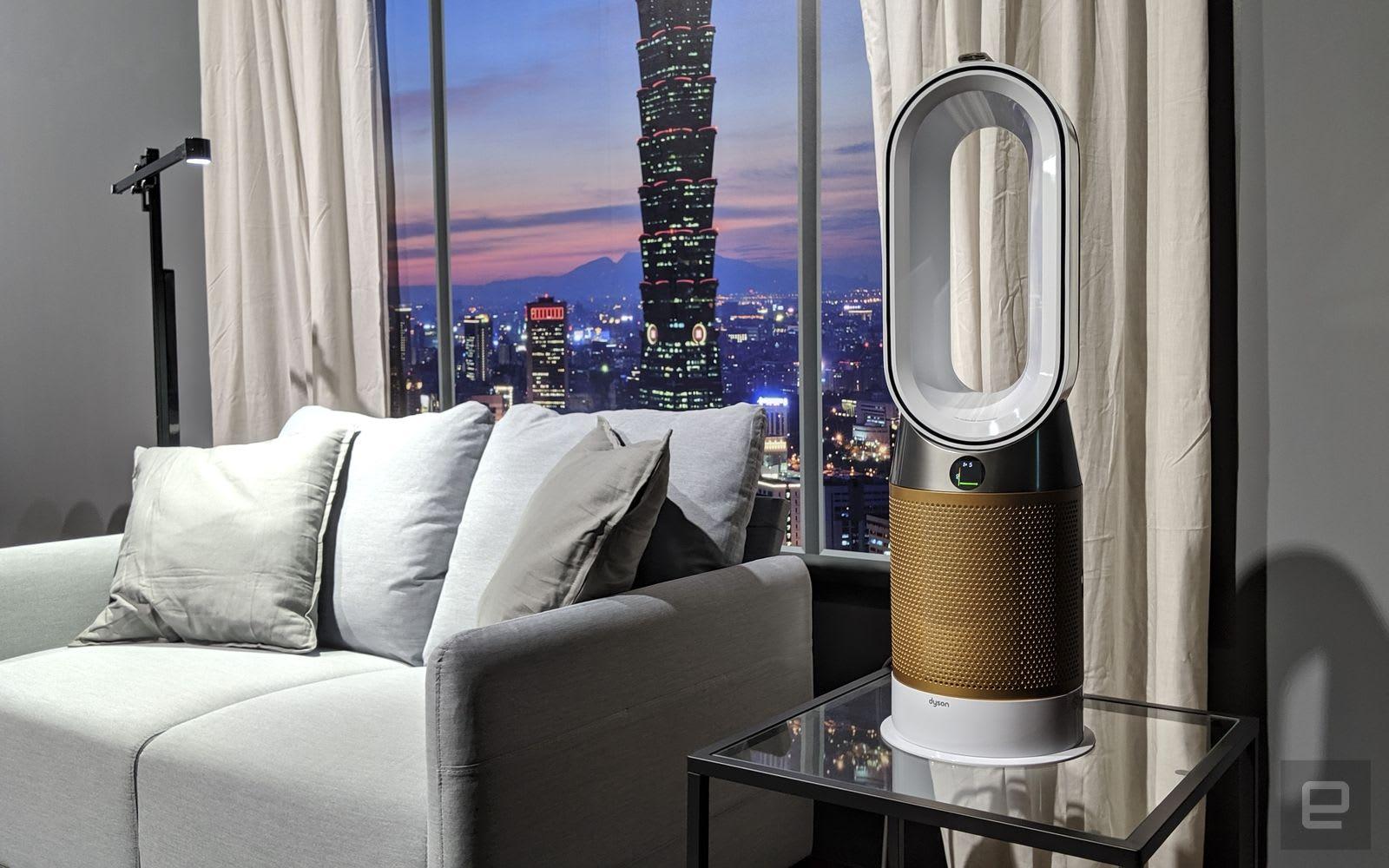 內建甲醛分解濾網的 Dyson Pure Cryptomic 空氣清淨器來到台灣