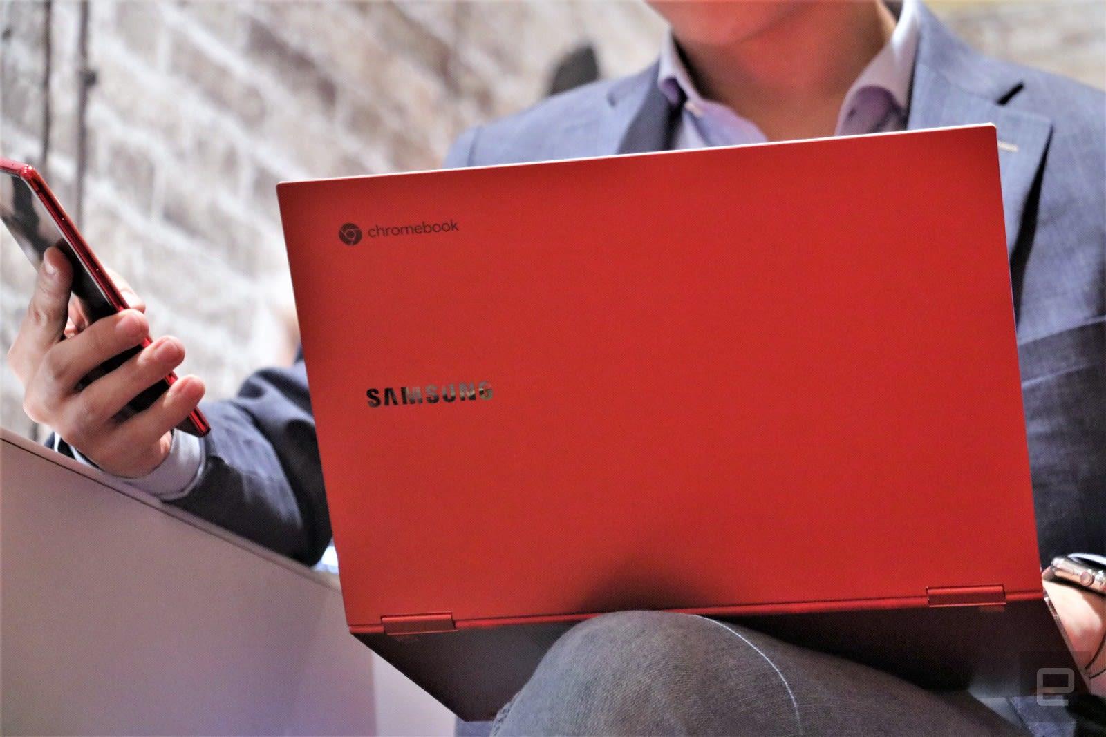 Samsung Galaxy Chromebook hands-on