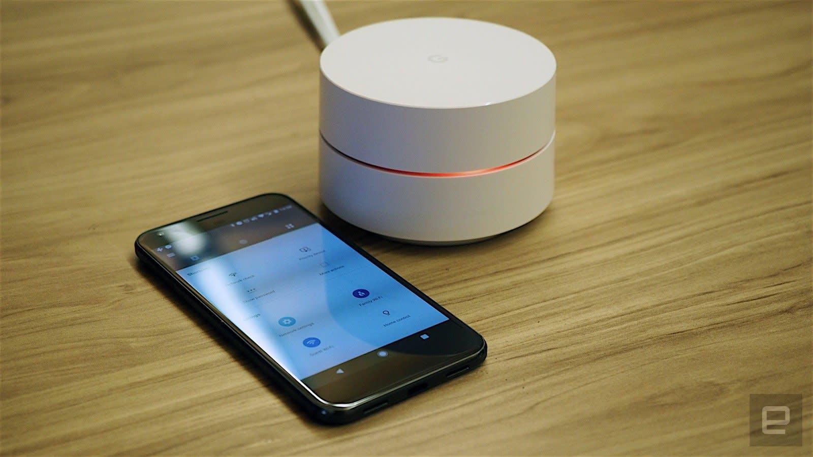 New Google WiFi