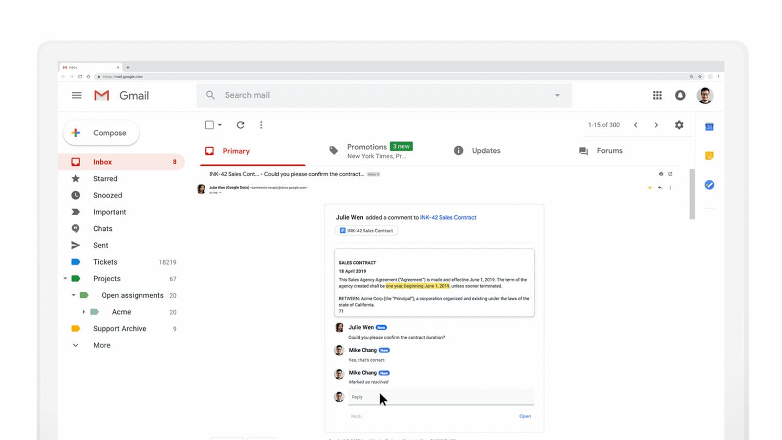 Google AMP for Email