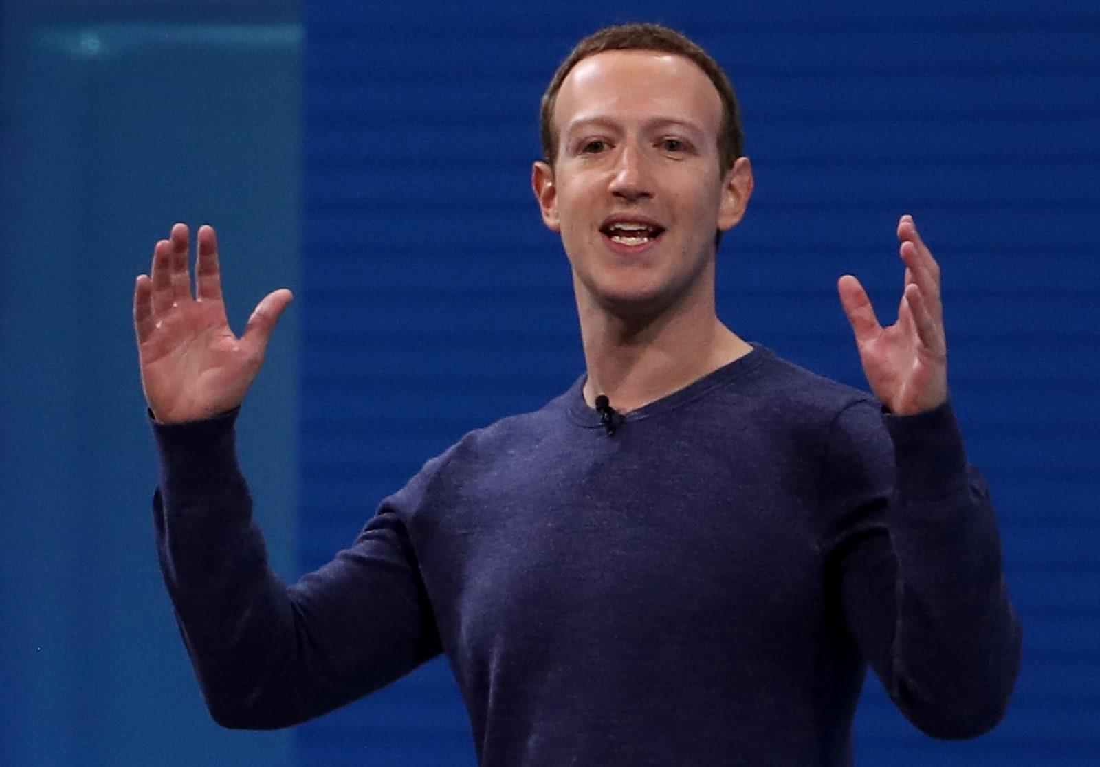 Mark Zuckerberg Addresses F8 Facebook Developer Conference