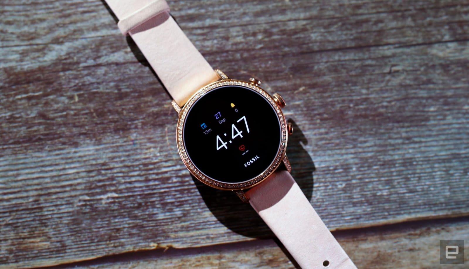 Wear OS on Fossil watch
