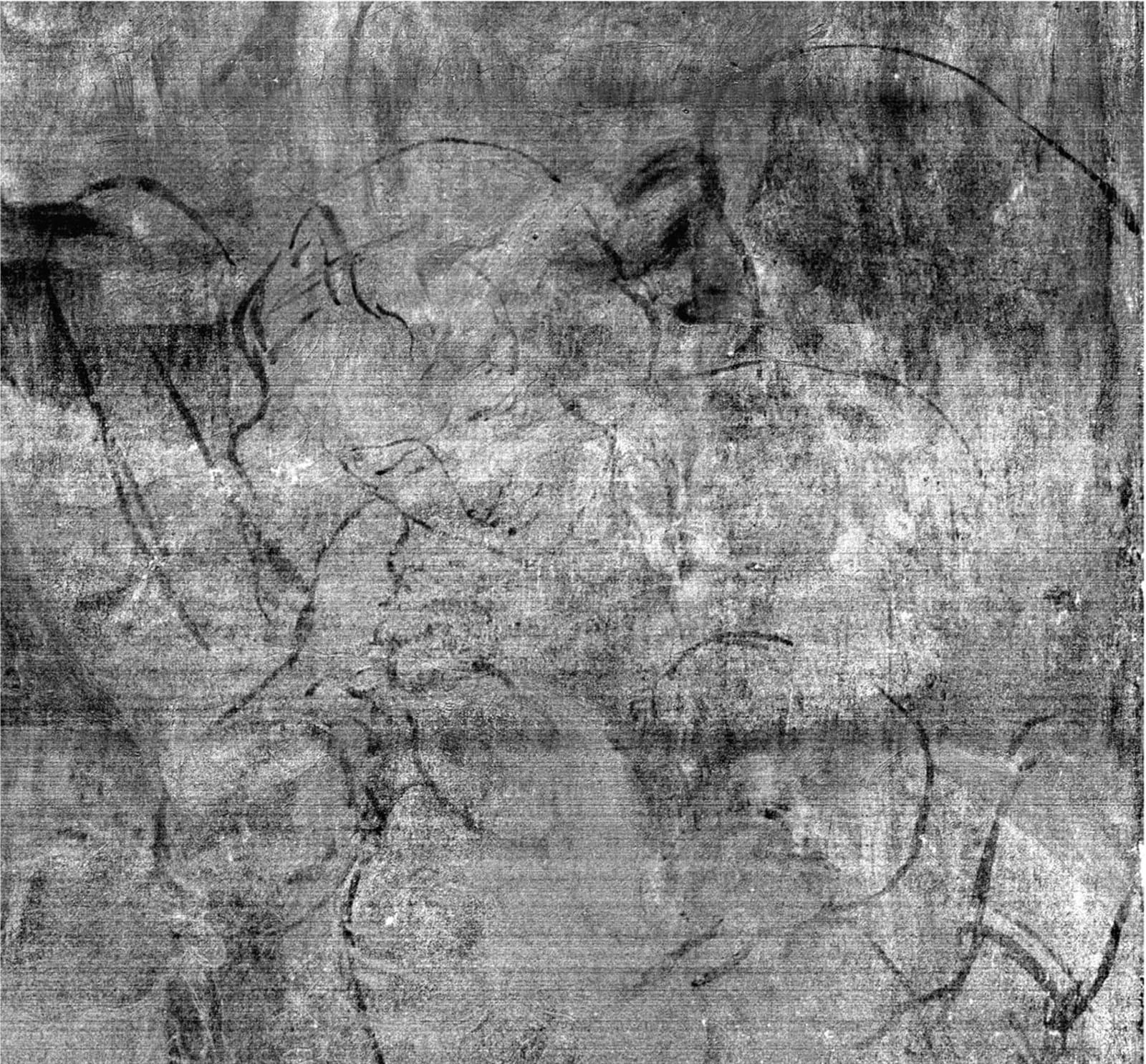 da Vinci The Virgin of the Rocks underpainting