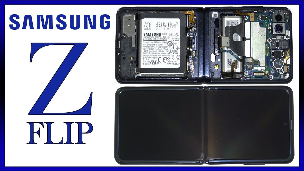 Galaxy Z Flip Teardow