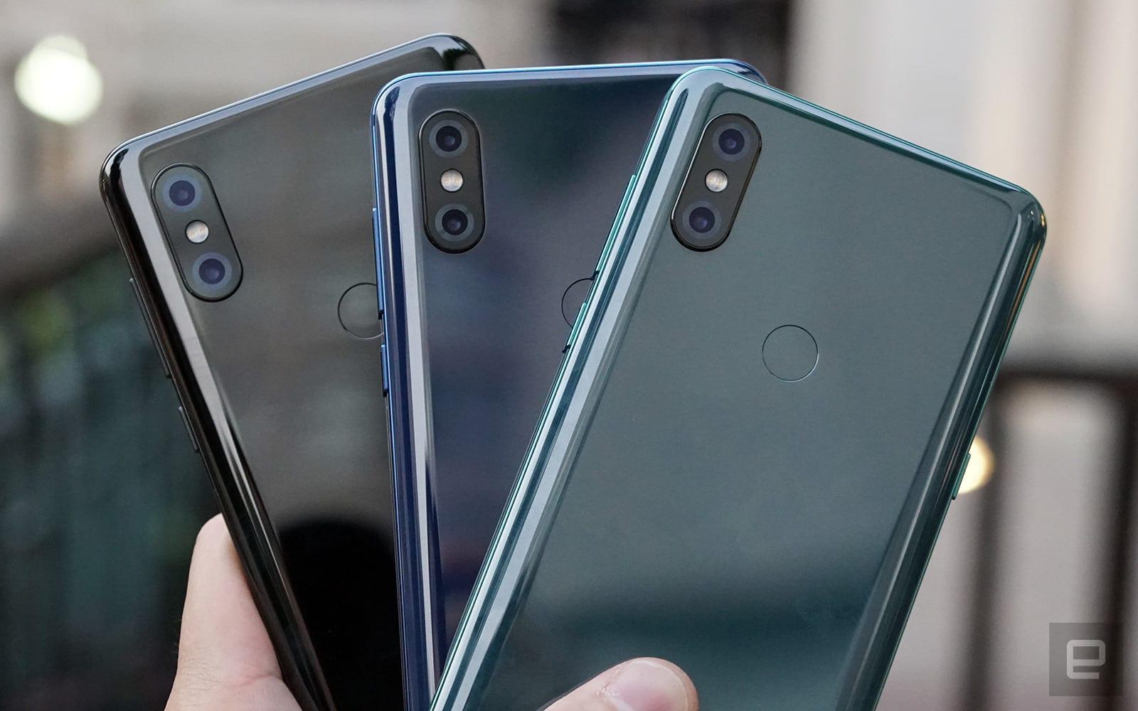 Xiaomi Mi Mix 3 colors