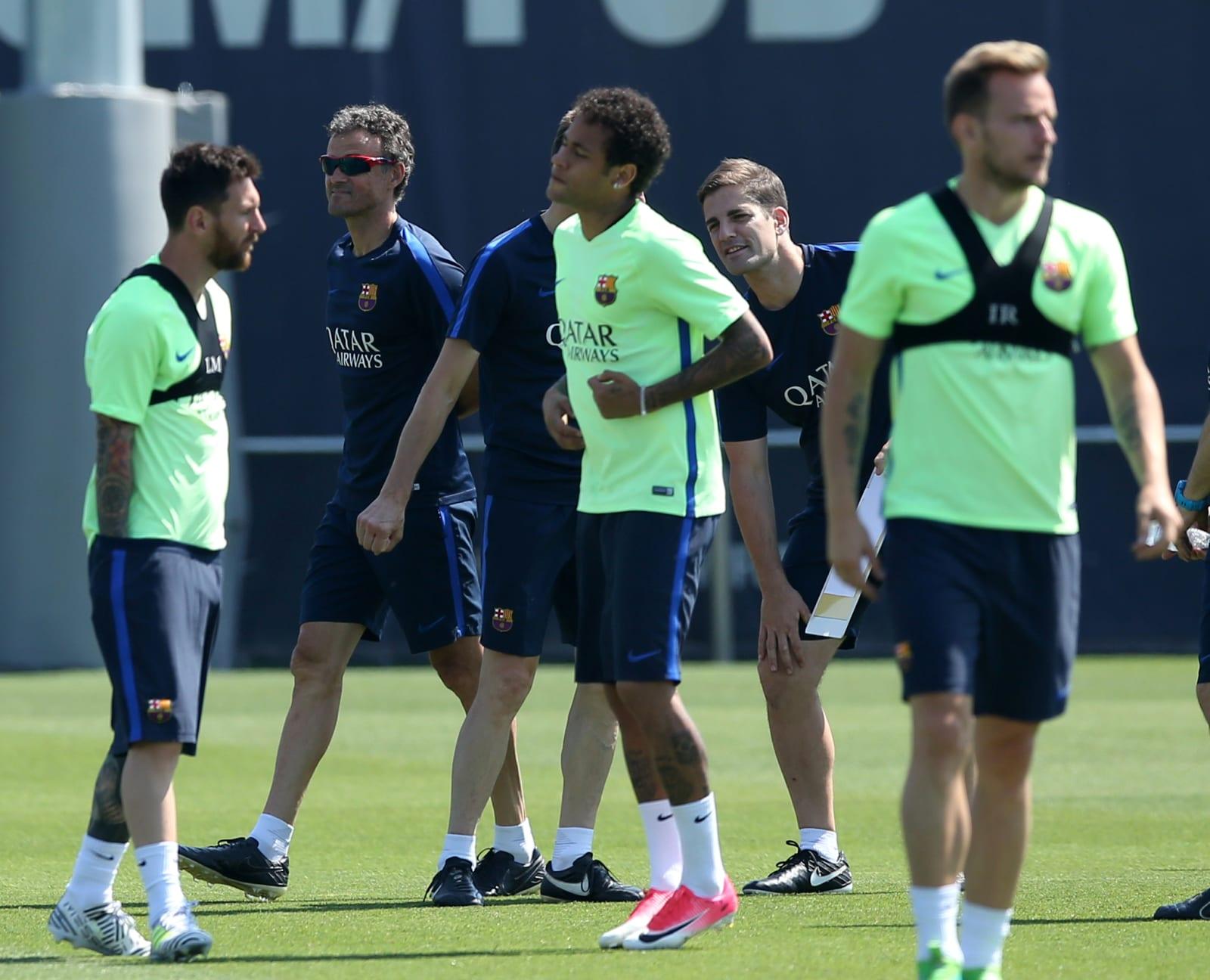 SOCCER-SPAIN-FCB-ALV/LUIS ENRIQUE