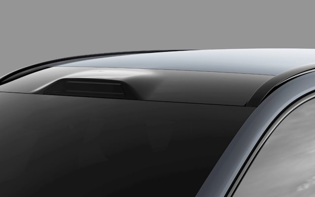 Luminar roofline LiDAR integration