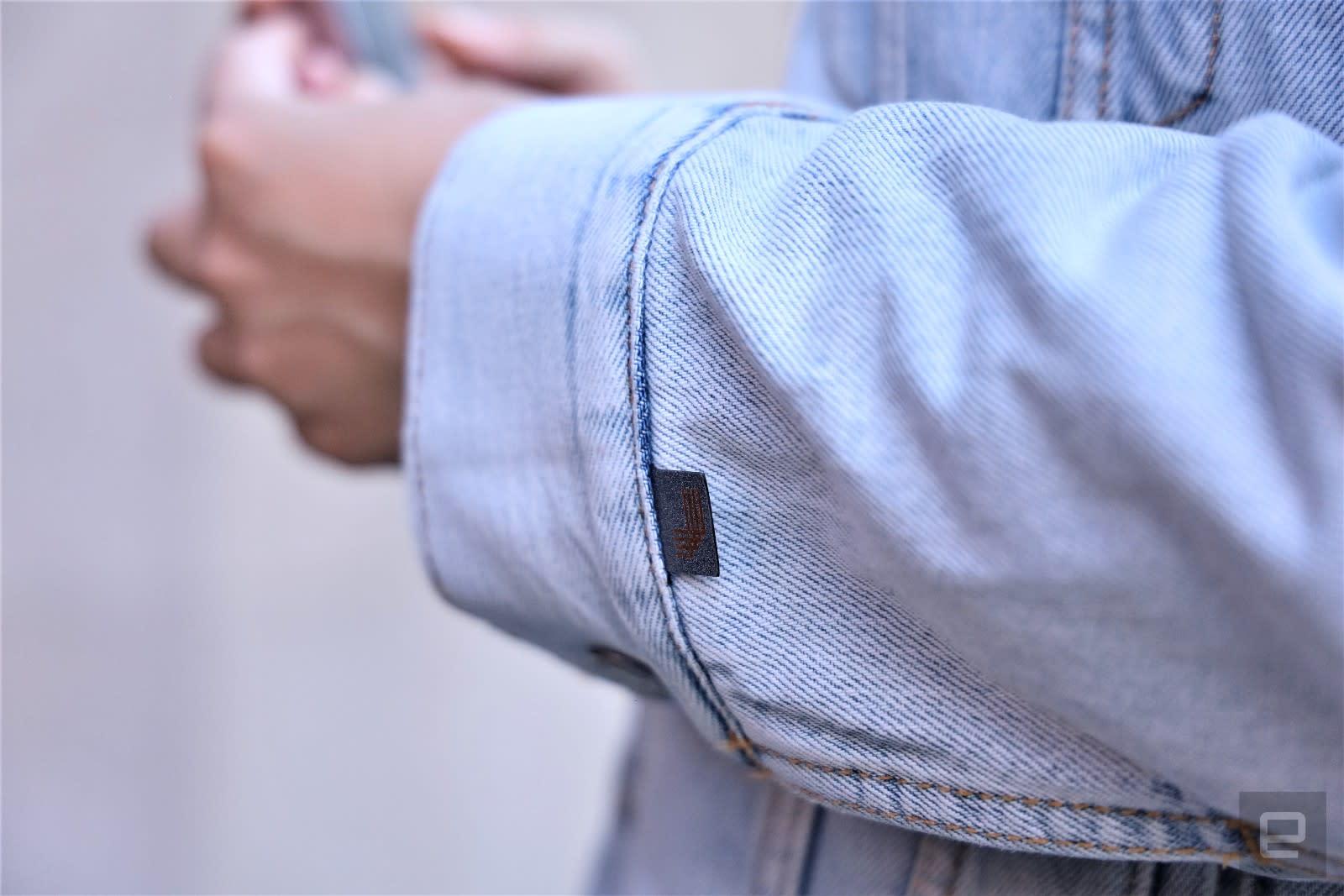 Google Jacquard and Levis Smart Trucker jacket