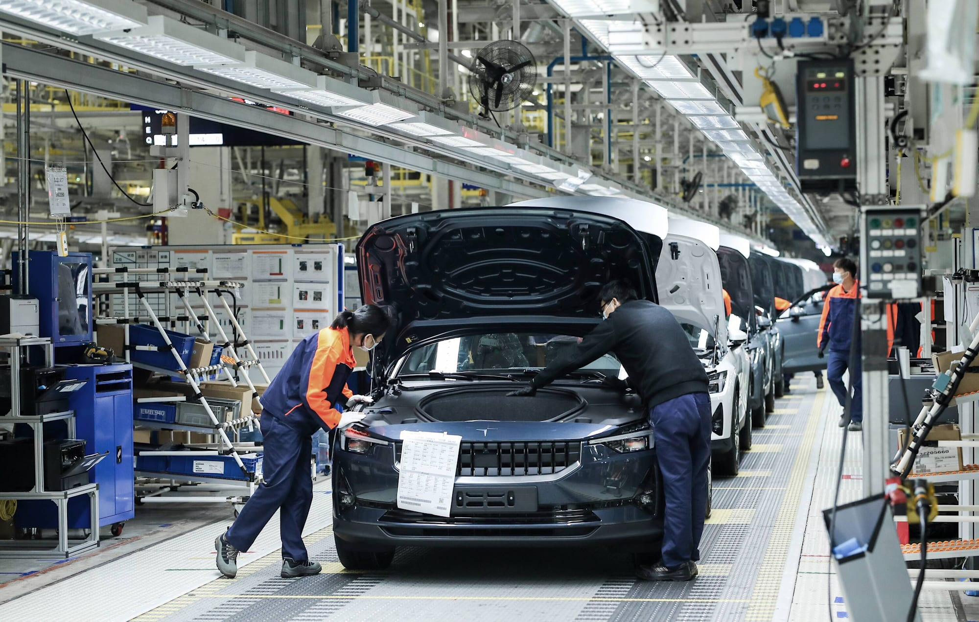 Polestar 2 production begins in China