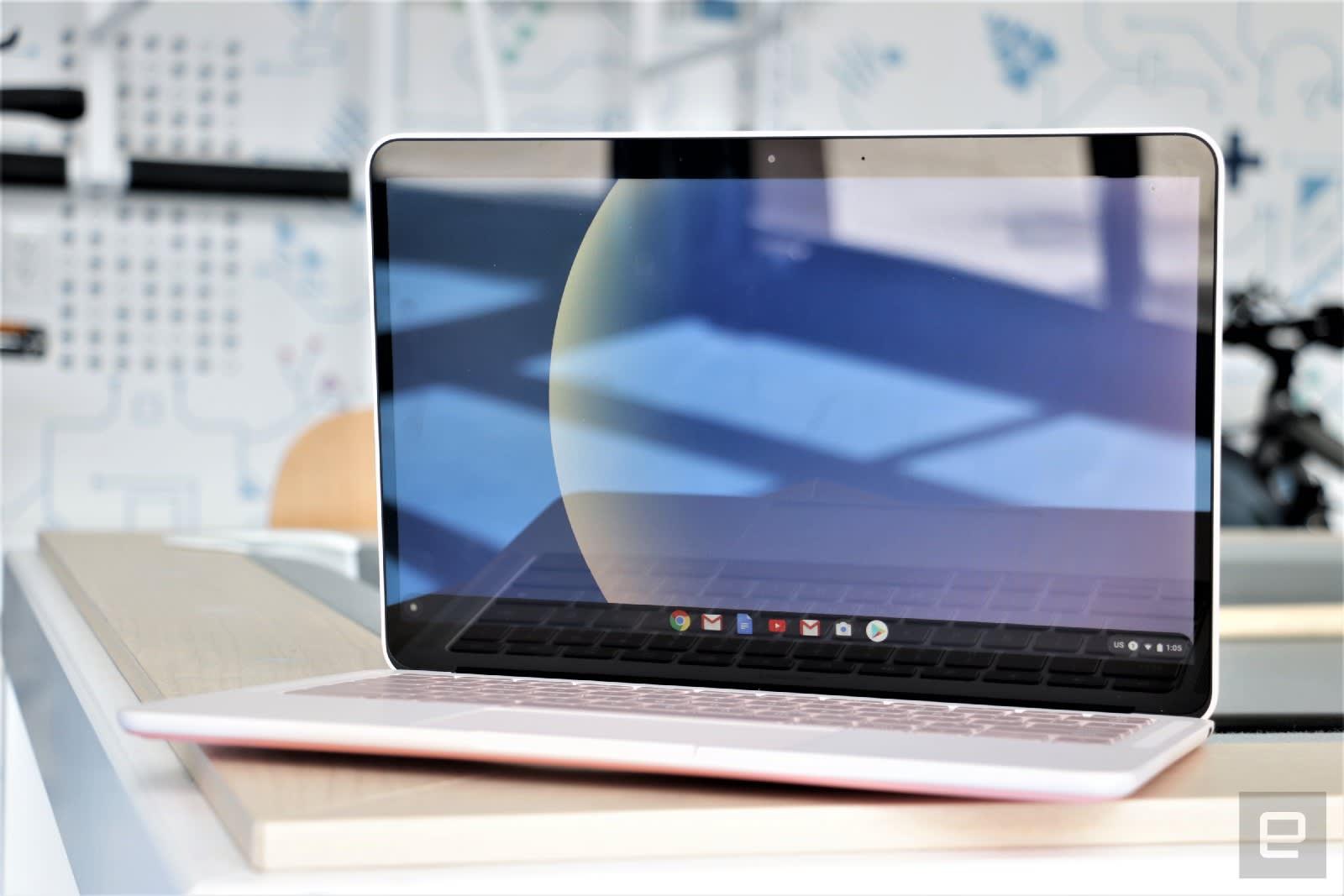 Google Pixelbook Go hands-on