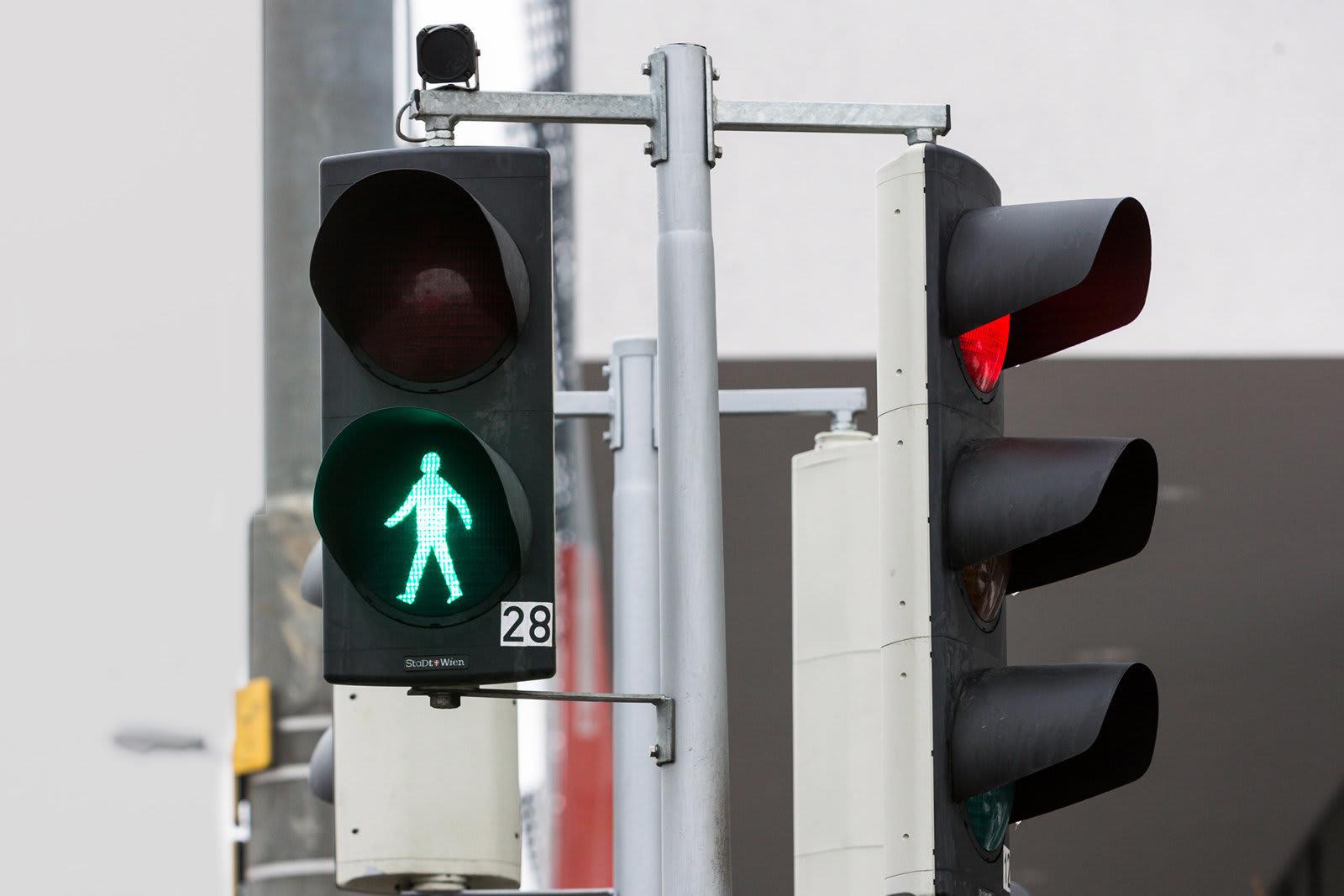 pedestrain traffic lights