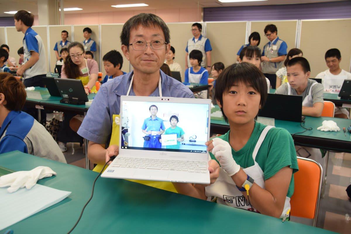 島根富士通パソコン組み立て教室2019