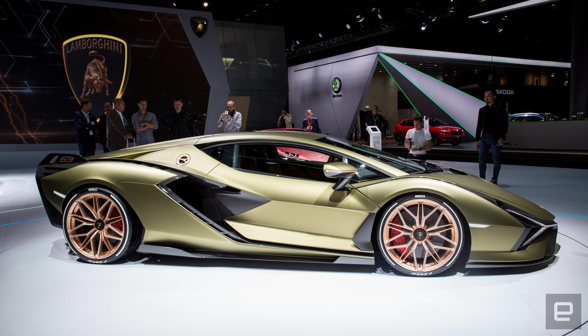 Lamborghini Sian unveil