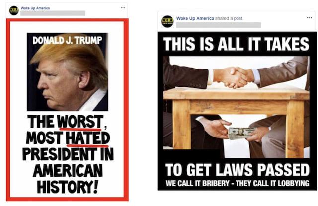 Facebook Iran posts