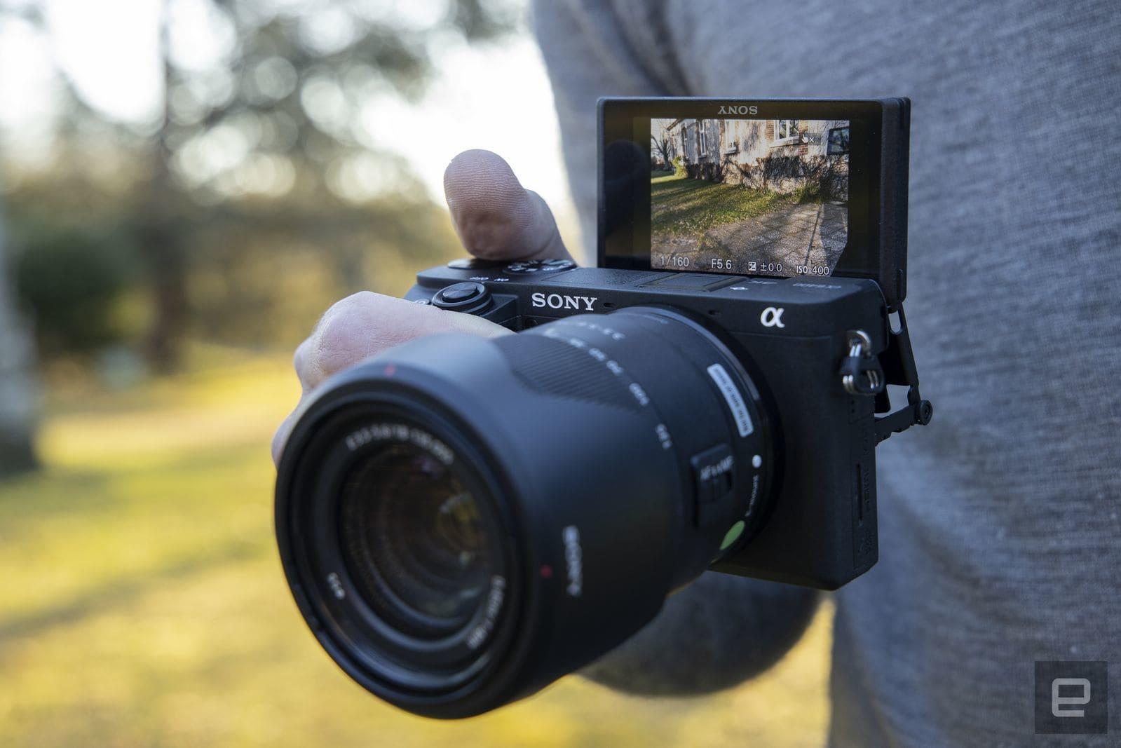 Sony A6400 APS-C mirrorless camera