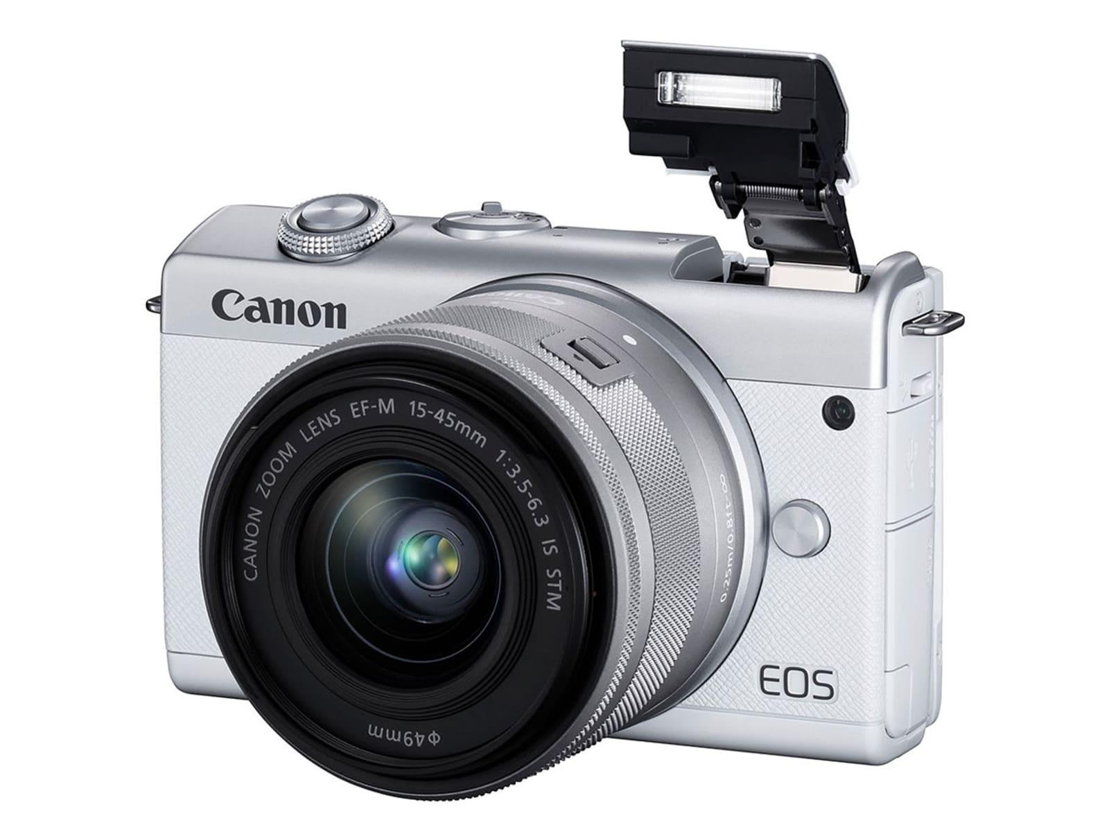 Canon EOS M200 APS-C mirrorless camera