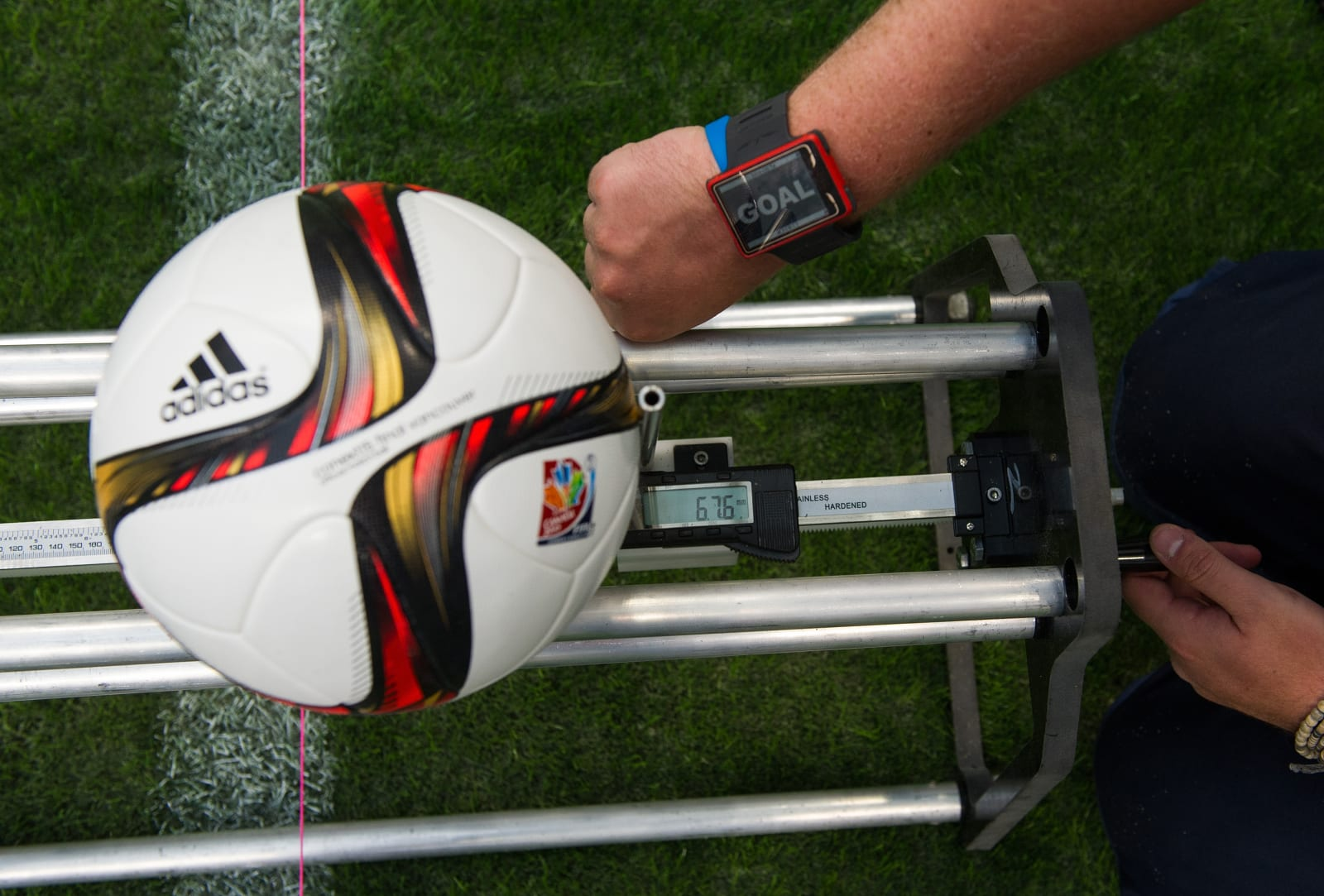 Goal Line Technology Testing - FIFA Women's World Cup 2015