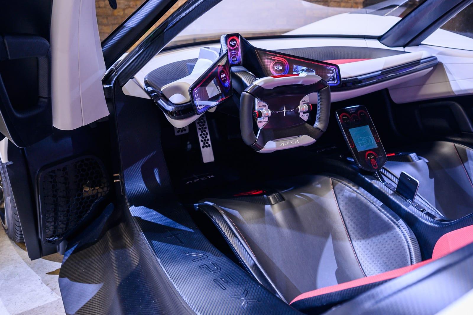 Apex AP-0 interior