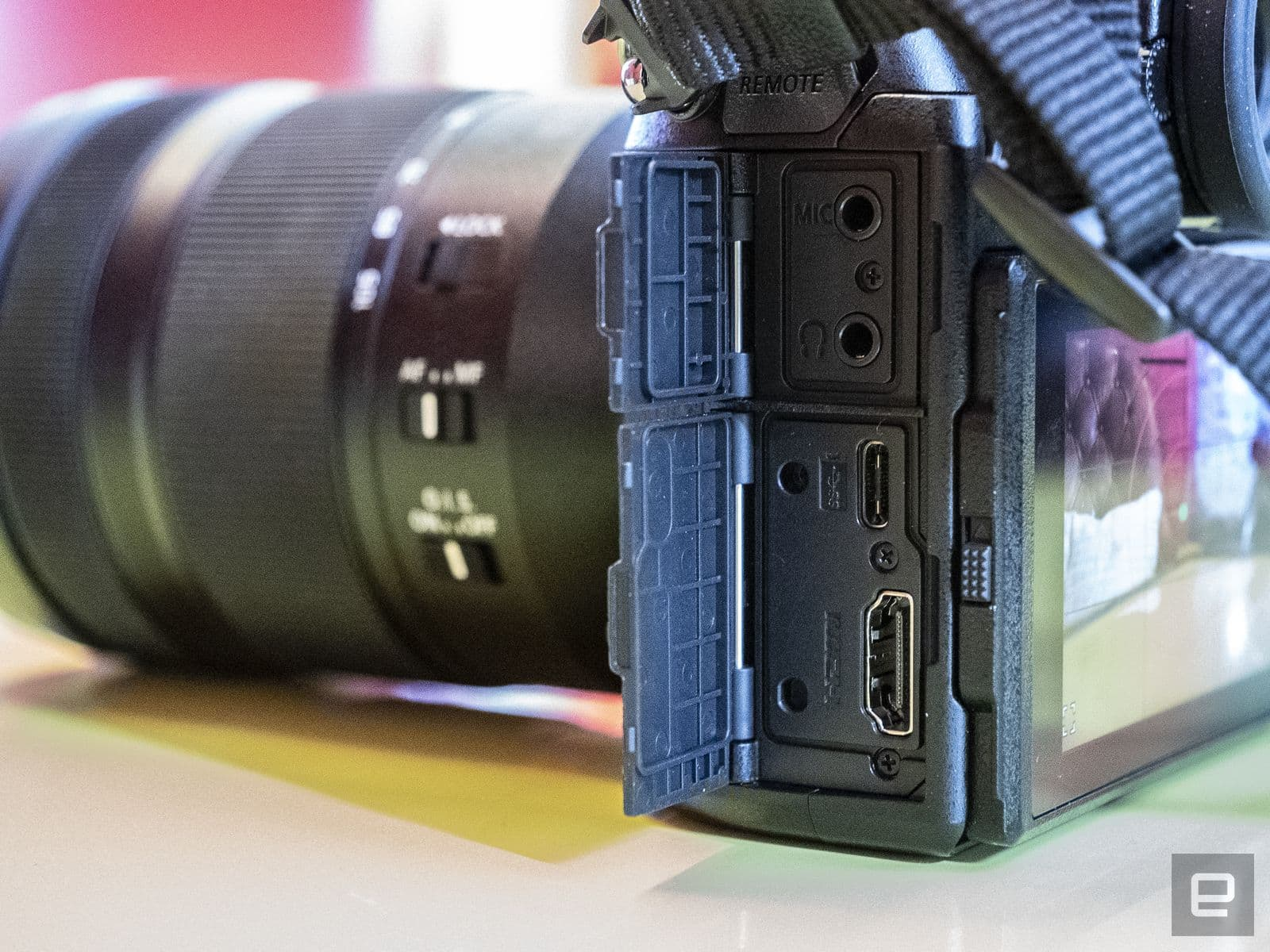 Panasonic S1 and S1R full-frame mirrorless cameras