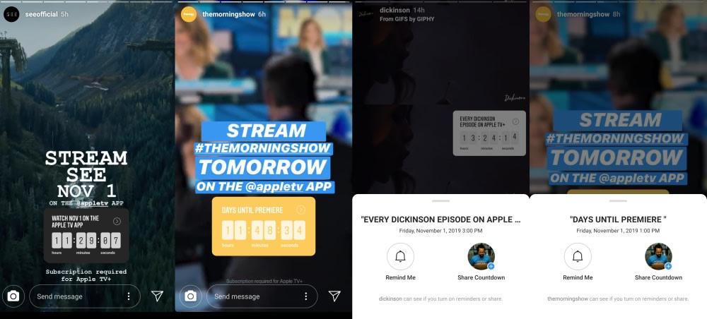 Apple TV+ premiere times