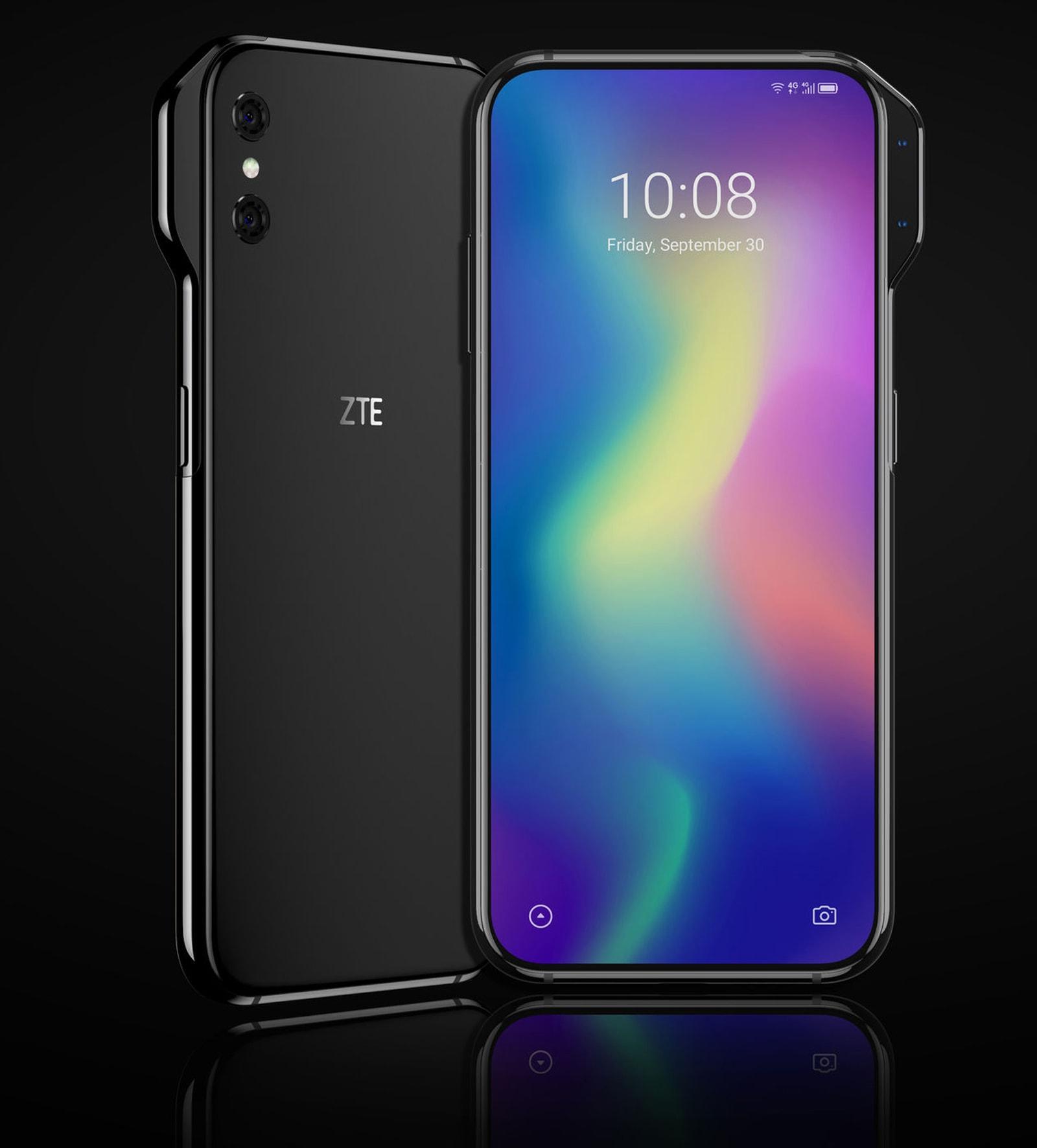 ZTE Axon V leaked image