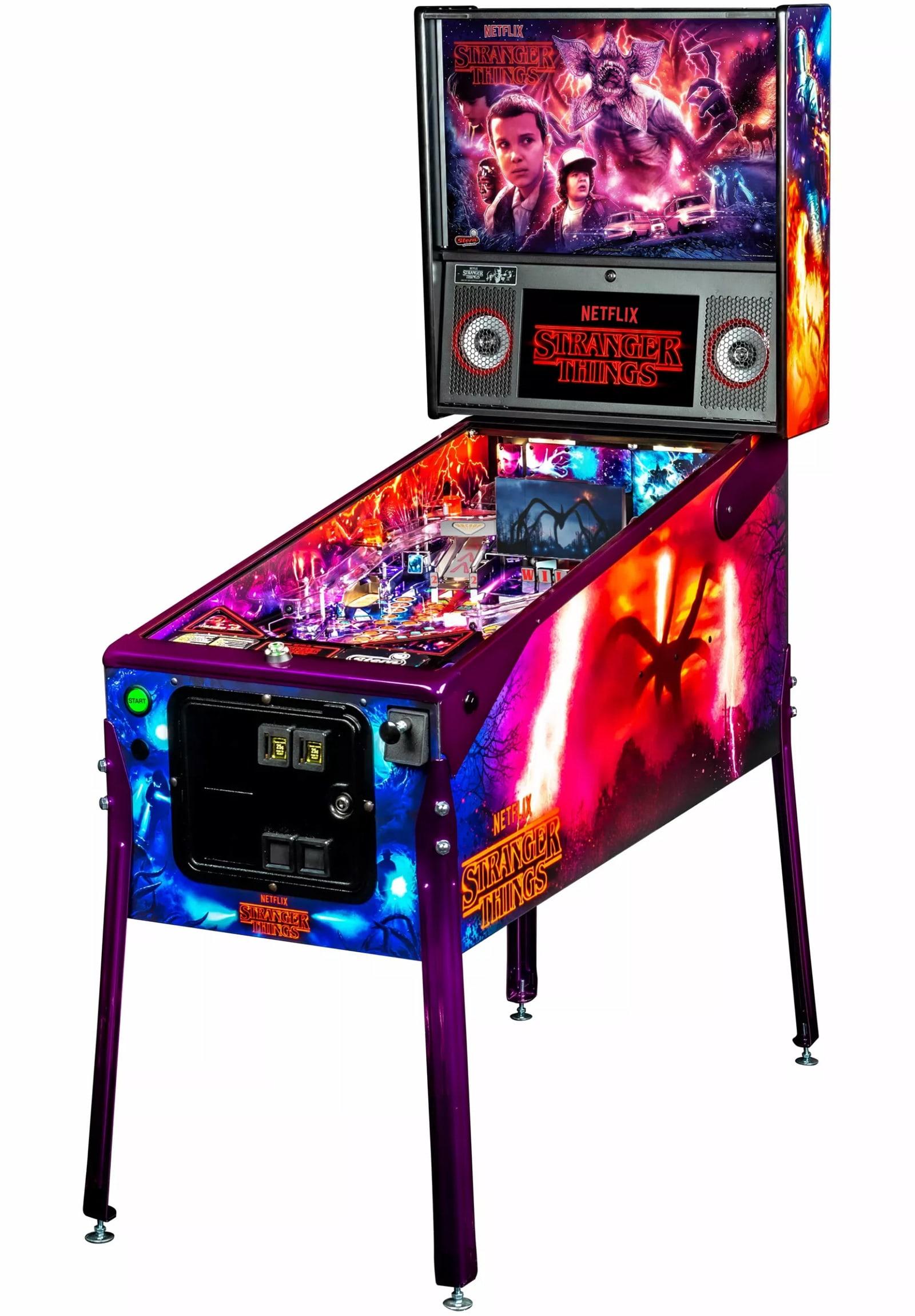 'Stranger Things' pinball machine