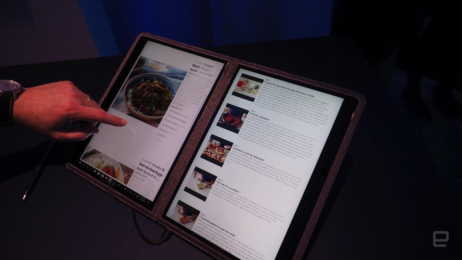 Dual Screen Intel Prototype