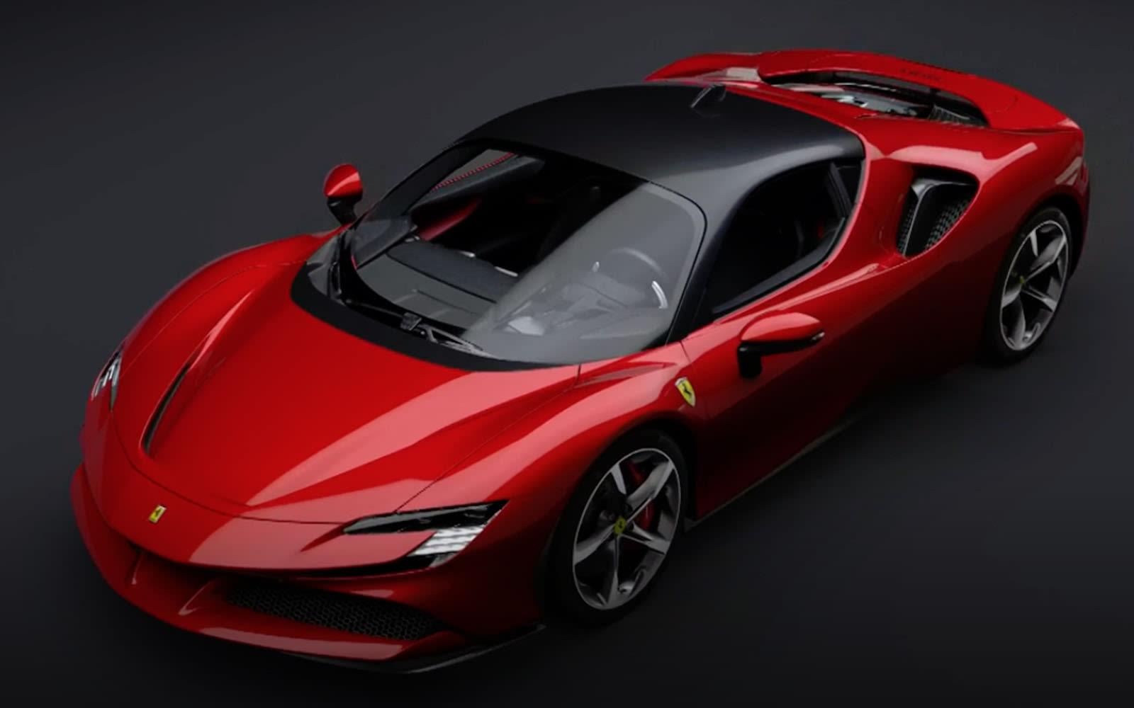 フェラーリ初の量産ハイブリッド Sf90ストラダーレ 発表 0 100km H 2 5秒 跳ね馬史上最速謳う Engadget 日本版