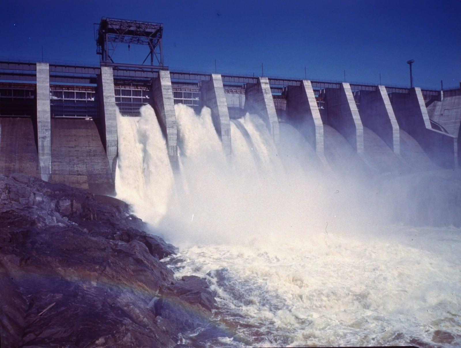 Good of Saguenay River water falling thr