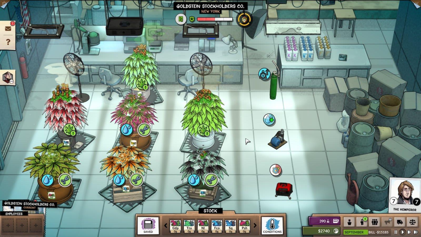 'High Maintenance' meets 'Civilization' in 'Weedcraft Inc'